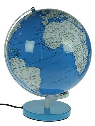 Настольный сувенир Глобус с подсветкой, диаметр 30 см