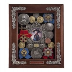 Малая настенная ключница Павел I