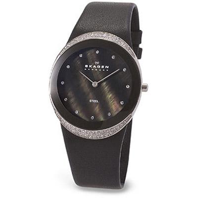 Женские наручные часы Skagen Leather