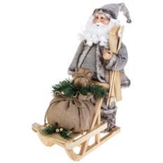 Новогоднее украшение Дед Мороз на санях с подарками