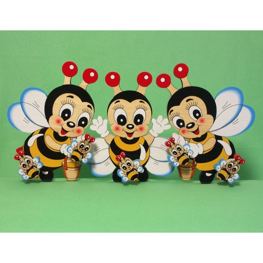 Крючок для одежды «Три пчёлки»