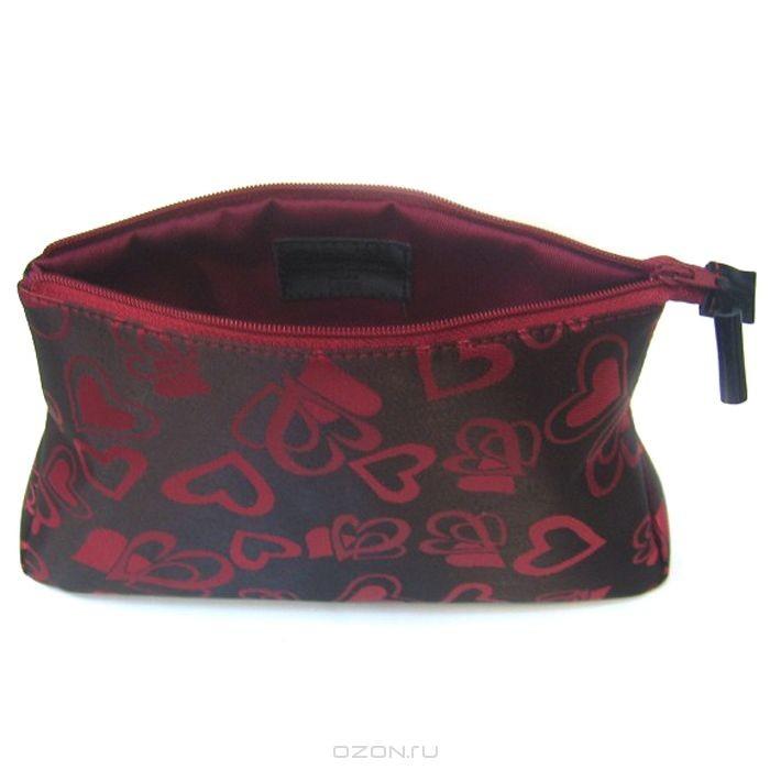 Косметичка Dimanche, цвет: бордовый