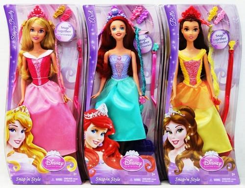 Куклы Disney Princess Модные прически