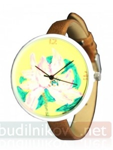 Наручные часы Lilies Yellow
