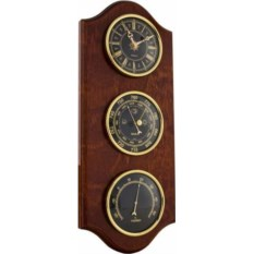 Настенные часы с барометром