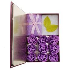 Книга-шкатулка Фиолетовые фантазии