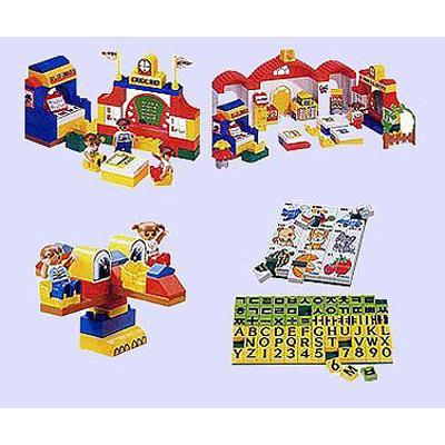Конструктор Haenim toys «Школа гениев»