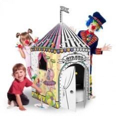 Картонный домик Цирк
