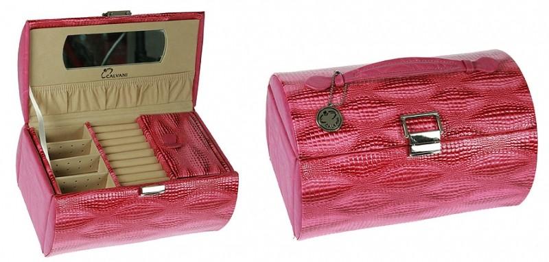 Шкатулка для ювелирных украшений Pink tube