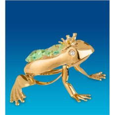 Фигурка Царевна-лягушка с цветным кристаллом
