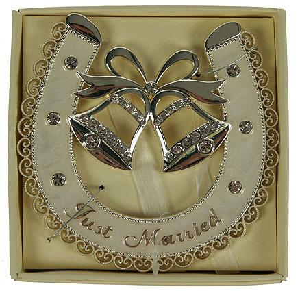 Сувенир Подкова с колокольчиками