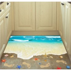 Напольный 3D стикер Пляж