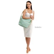 Бирюзовая пляжная сумка Moltini