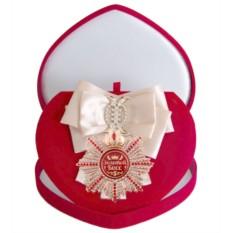 Большой Орден с кремовой лентой Золотой босс