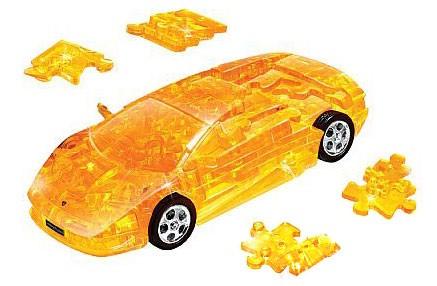 3D головоломка Ламборджини (собранный, желтый)