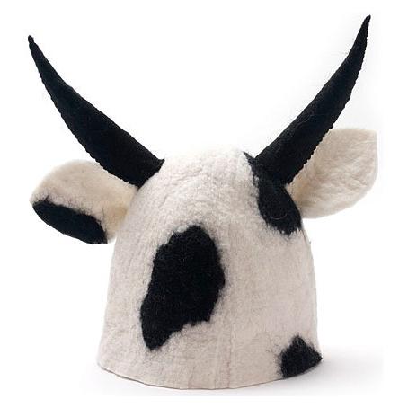 Шляпа банная «Корова»
