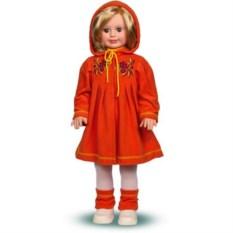 Кукла Милана в вязаном платье