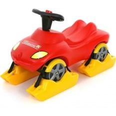 Снегоход-автомобиль Пожарная команда со звуковым сигналом