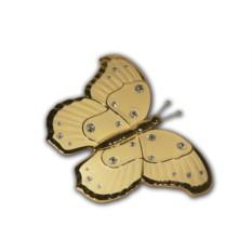 Декоративное изделие Кремовая бабочка Bruno Costenaro