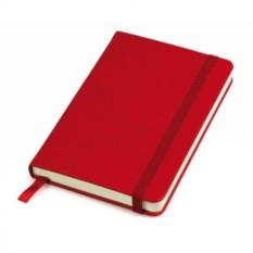 Красный в клетку бизнес-блокнот A6+ Casual