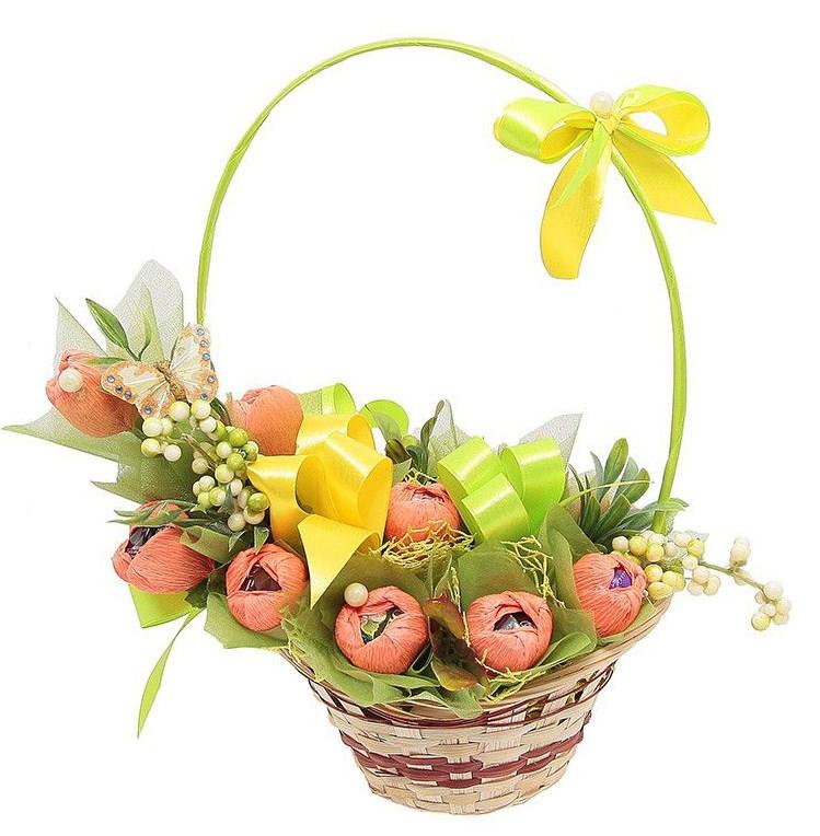 Букет из конфет Весна