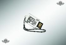 Серебряная флеш-карта «Король», 32Gb