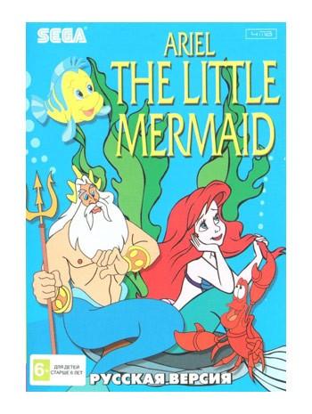 Картридж для Sega с игрой Ariel Litle Mermaid