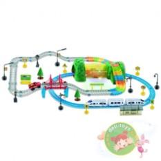 Детский автотрек и железная дорога