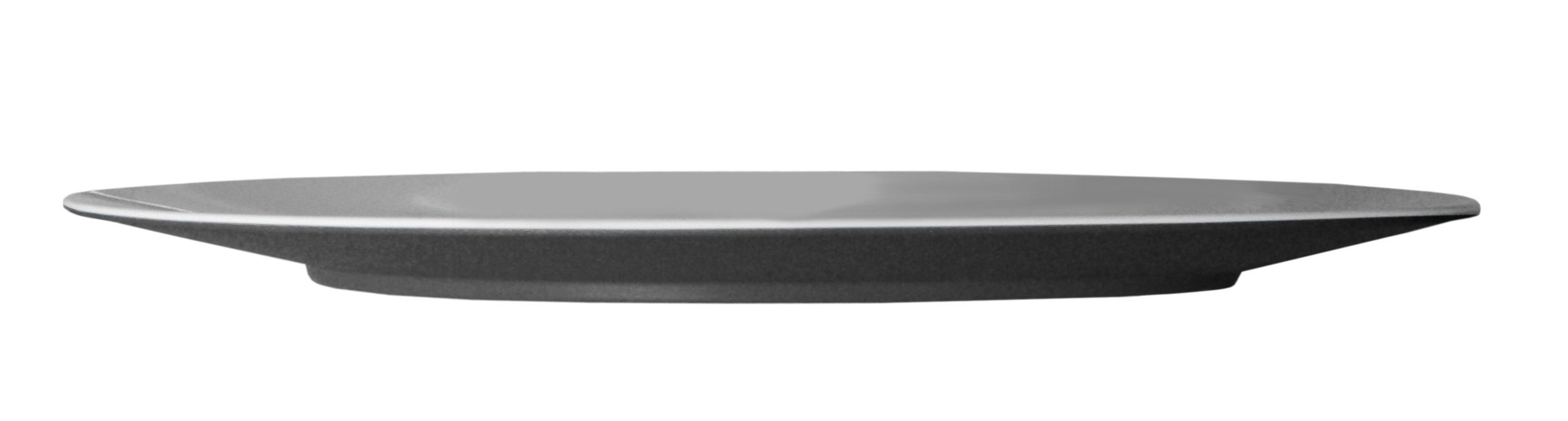 Тарелка сервировочная, черная