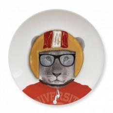 Обеденная тарелка Baby Lion