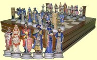 Шахматы в шкатулке Христиане и Арабы