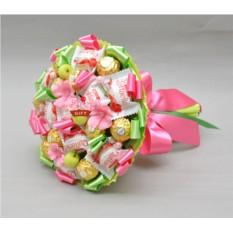 Букет из конфет Фрезия