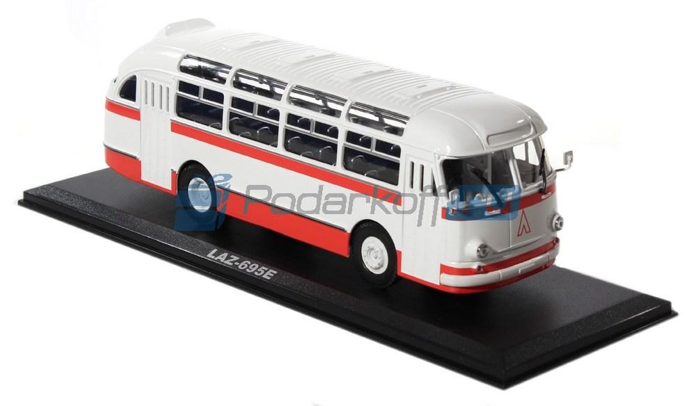 Коллекционная модель автобуса ЛАЗ-695Е