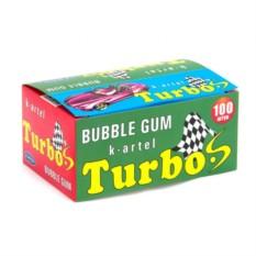 Жвачка Turbo Персик 100 шт.