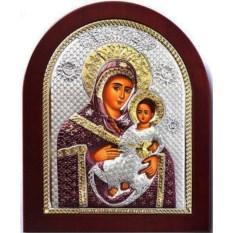 Вифлеемская икона Пресвятой Богородицы в серебряном окладе
