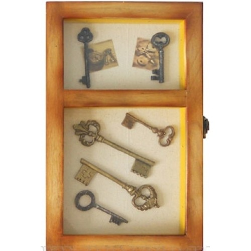 Настенная ключница на 6 ключей