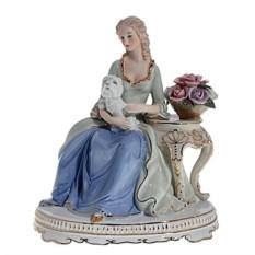 Статуэтка Девушка с собачкой