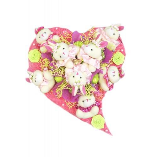 Букет из конфет Сумасшедшая любовь