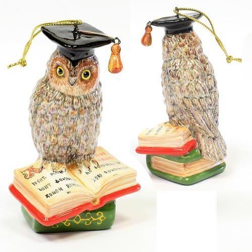 Елочная игрушка Мудрая сова