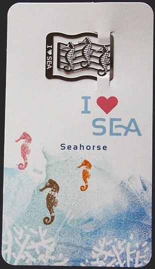 Закладка Морские коньки