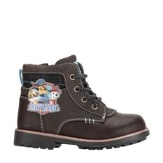 Коричневые ботинки Paw Patrol