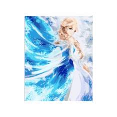 Картина по номерам «Эльза. Холодное сердце»