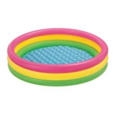Детский бассейн Rainbow Intex