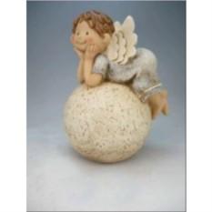 Фигура Ангел на шаре