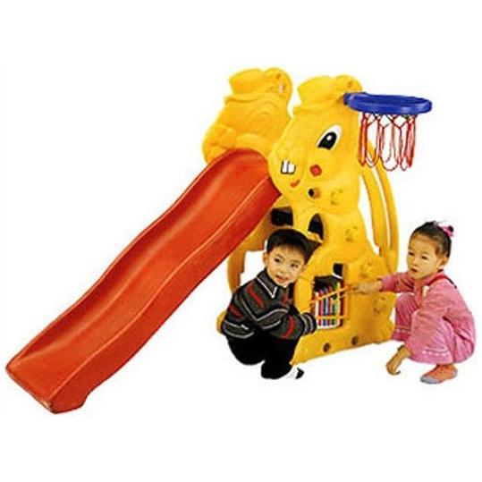 Детская пластиковая горка «Заяц», Ching-Ching
