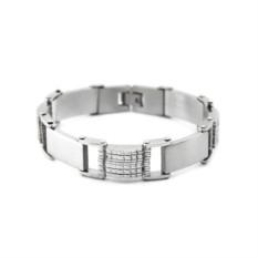 Мужской браслет из стали Fashion steel FSSB027
