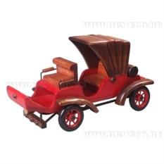 Декоративная фигурка из металла Красный автомобиль