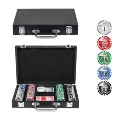 Набор для покера на 100 фишек Wood
