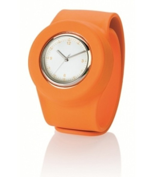 Наручные часы SLAP ON WATCH Analog, оранжевый