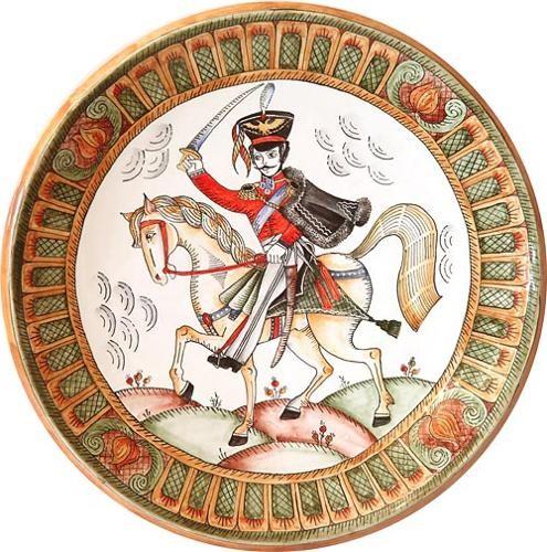 Настенная тарелка Гусар